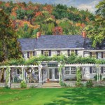 Colonial Inn, Ligonier,  Oil on canvas 18 x 24 Private Collection