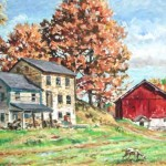 Goat Ladies Farm I, Chester PA, Private Collection