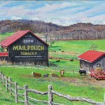 Oleschlager Farm,  Oil on Canvas,  20 x 30, Private Collection