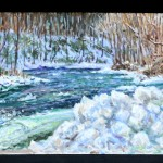 Loyalhanna Creek Triptych, Private Collection