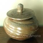 JoAnne Arnone  RAKU Slow Baked Potter