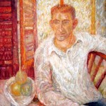 Lorraine Malach  Portrait of Bill  Oil on canvas