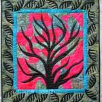 Carroll Labarthe Winter Twilight Quilt 25.5 x 28