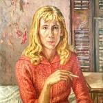 Lorraine Mallach, Oil on canvas, 30 x 20