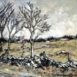 Gettysburg, Oil on Panel,  Margaret Mitchell