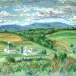 Marker Farm, Pastel