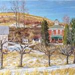 McConnaughey Farm I, Ligonier, PA,  Oil on Canvas 16 x 22,