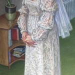 Wedding Meditation II Oil on canvas 42 x 19