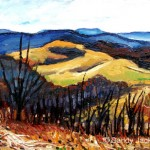 """Sandra Jackson  Oil on panel  10"""" x  13"""""""