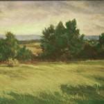 <i>High Meadow,</i> Maureen Baird, <br> Pastel 15.25 x 15