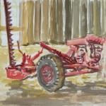McConnaughey Farm Tractor Shed Interior