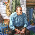 Portrait of the Artist Father Oil on canvas 40 x 50 Collection of the Artist