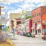 Main Street, Latrobe, UPMC Collection