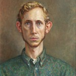 Frank Vavrika II, oil on canvas