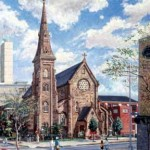 Cathedral of the Immaculate Conception-Camden,  Oil on Canvas 38 x 36,  Collection: Diocese of Camden