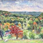 Kinsey Farm III,  Oil on panel 16 x 20