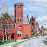 First Presbyterian Church, Latrobe Private Collection