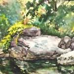 Octarora Creek, Casein