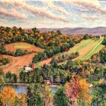 Graham's Overlook,  Oil on Canvas, 20 x 30,  Private Collection