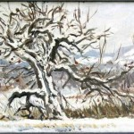 Old Tree in Winter, Private Collection