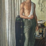 Self Portrait 1959, Oil on canvas