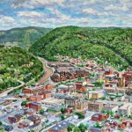 View from Johnstown Incline