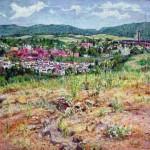 View of Latrobe (1956),  Oil on Canvas 26 x 30