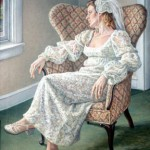 Wedding Meditation Oil on canvas 46 x 36 Collection of the Artist