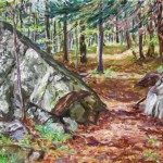 Deer Path, Private Collection