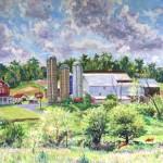 Graham Farm, 2010     Oil on canvas, 20 x 30