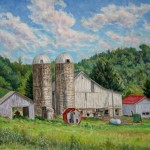 King George Knupp Farm, 2013     Oil on canvas, 22 x 36, Collection, Southern Alleghenies Museum of Art Collection of the Southern Alleghenies Museum
