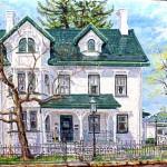 Fairfield House, Ligonier PA, 2001     Oil on canvas, 18 x 24